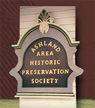 Ashland Area Historic Preservation Society